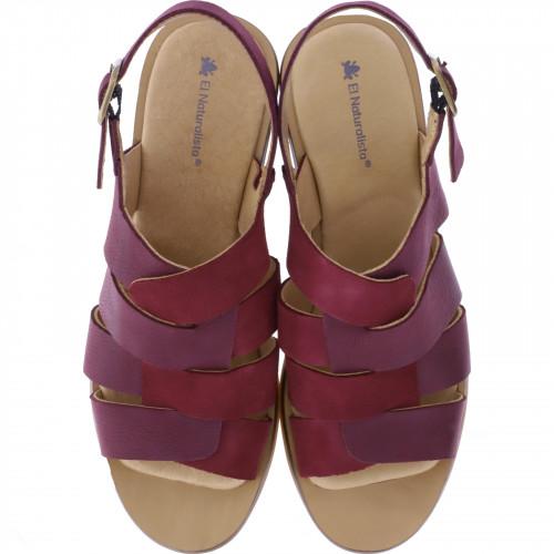 Damen Sandalette N5358 Aqua El Naturalista Farbe Modell Lux Suede Rioja