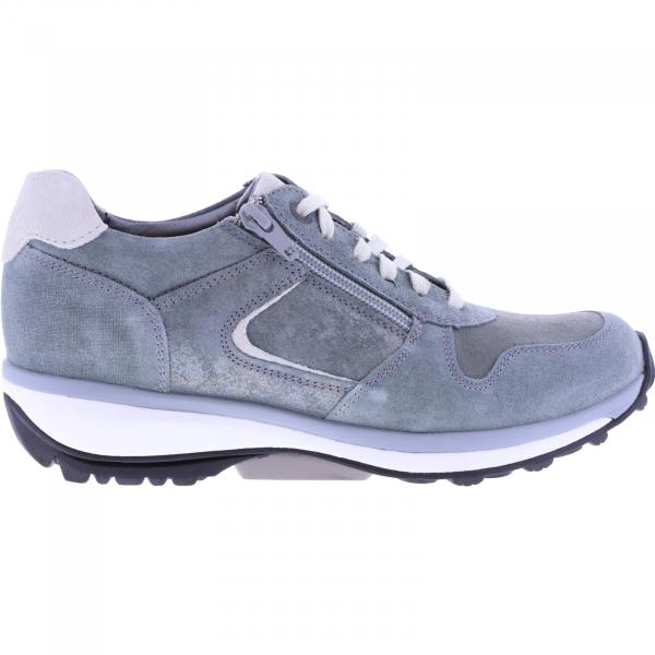 Xsensible Stretchwalker / Modell: Jersey / Sali Graugrün Leder / Art: 300422-485 / Damen Sneakers