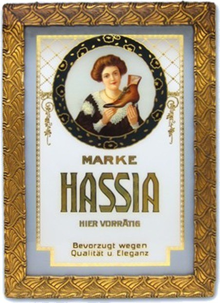 Hassia Werbung von 1900