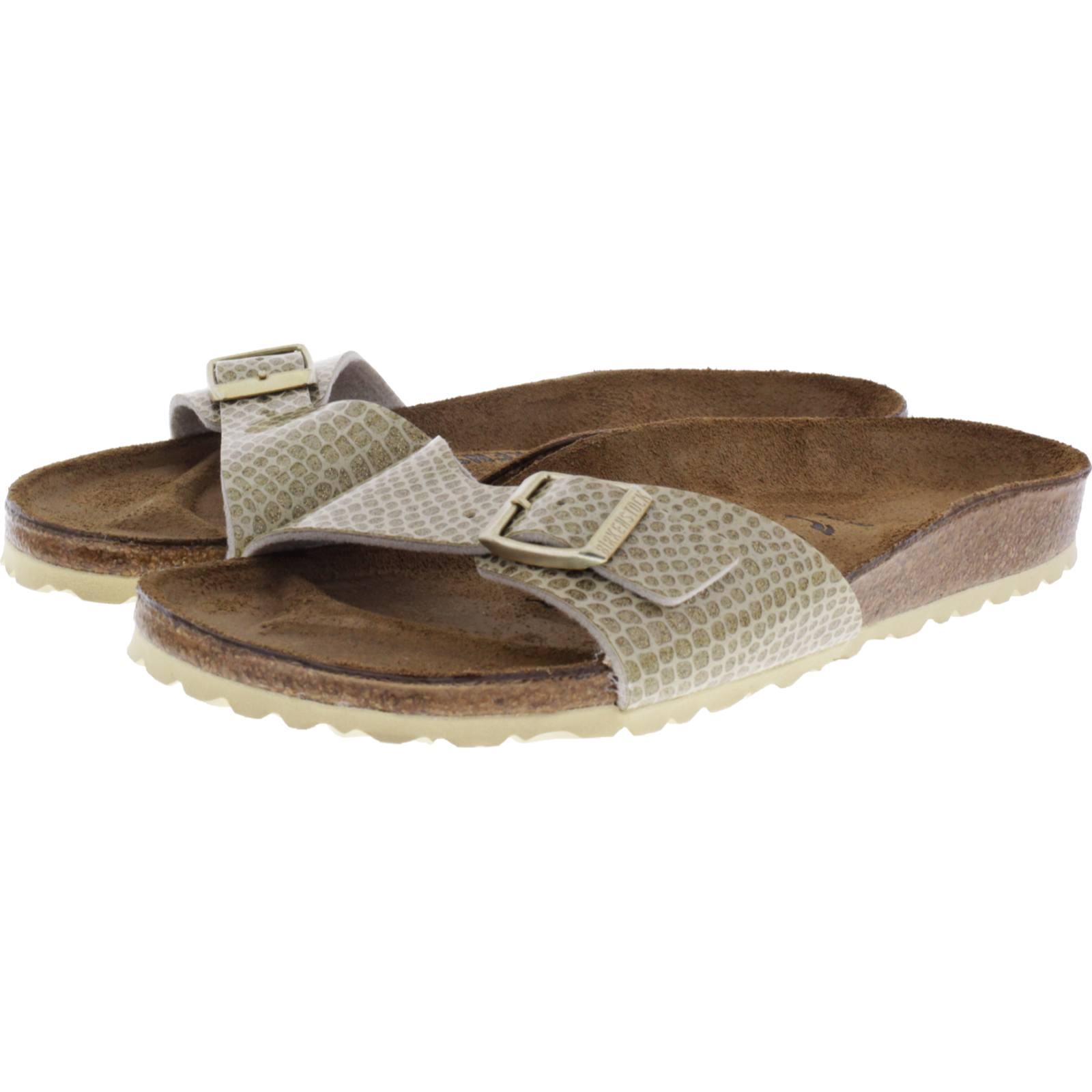 Birkenstock Modell: Madrid Magic Snake Gold Weite: Schmal Art: 1011755