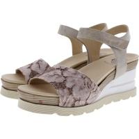 Brako / Modell: Eva Dana / Rosa-Beige Leder / Wechselfußbett / Art: 6036 / Damen Sandalette