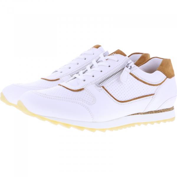 Hassia / Barcelona / Milk-Hazel Leder / Wechselfußbett / Art: 1-301916-0629 / Damen Sneakers
