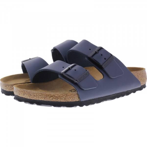 Birkenstock / Modell: Arizona / Blau Leder / Weite: Normal / Art: 051151 / Unisex Sandalen