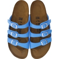 Birkenstock / Modell: Florida / Graceful Ocean Blue / Weite: Schmal / Art: 1008859
