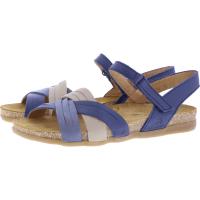 El Naturalista / Modell: N5242 Zumaia / Farbe: Marino Mixed Leder / Damen Sandalen