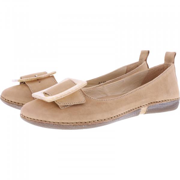 Neosens / Modell: S3116 / Viura Texas-Wood Beige Leder / Edle Damen Ballerinas