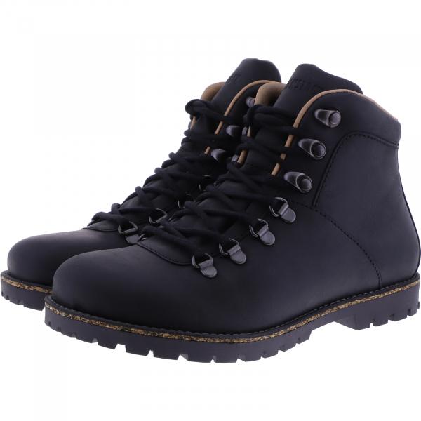 Birkenstock / Modell: Jackson / Black Leder / Weite: Normal / Art: 1017325 / Stiefeletten