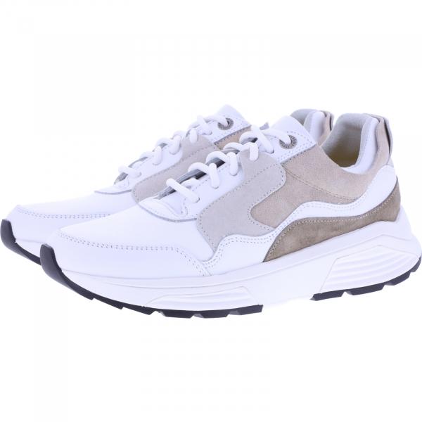 Xsensible Stretchwalker / Modell: Golden Gate / White / Leder / Art: 330003-190 / Damen Sneakers