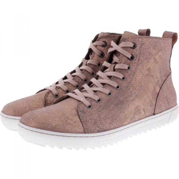 5a31e1018ce0ff Birkenstock Shoes   Modell  Bartlett   Metallic Rose   Leder   Weite  Schmal