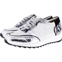 Hassia / Madrid / Silber-Multi Leder  / Wechselfußbett / Weite: K / Art: 5-301819-7699 / Damen