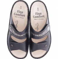 Finn Comfort / Modell: Mira-S / Schwarz-Grau / Classic-Soft / Art: 82582-901445 / Damen