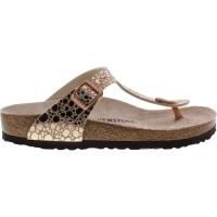 Birkenstock / Modell: Gizeh / Metallic Stones Copper / Weite: Normal / Art: 1005674 / Zehensteg