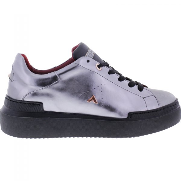 Ed Parrish Sneakers / Modell: Lily / Acciaio-Stahl Metallic / Wechselfußbett / Damen Sneakers