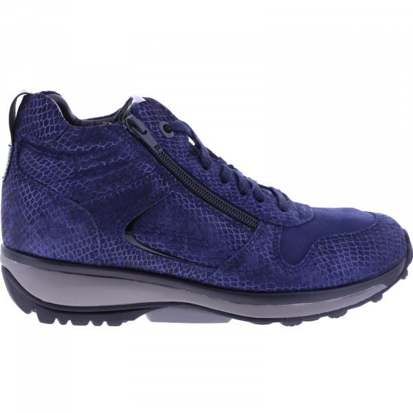 Xsensible / Modell: Filly / Dark Blue Metallic / Leder / Art: 300262-285 / Damen Stiefelette