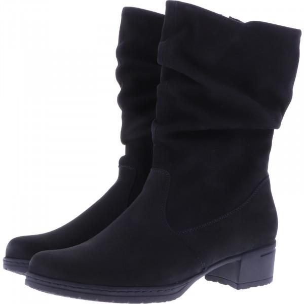 Hartjes / Modell: XS Hip Boot High / Schwarz Leder / Weite: H / 20292-0101 / Damen Stiefel
