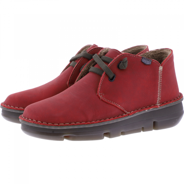 OnFoot / Modell: Touch Zen / Farbe: Rojo Red Leder / Art.: 29000 / Damen Schuhe
