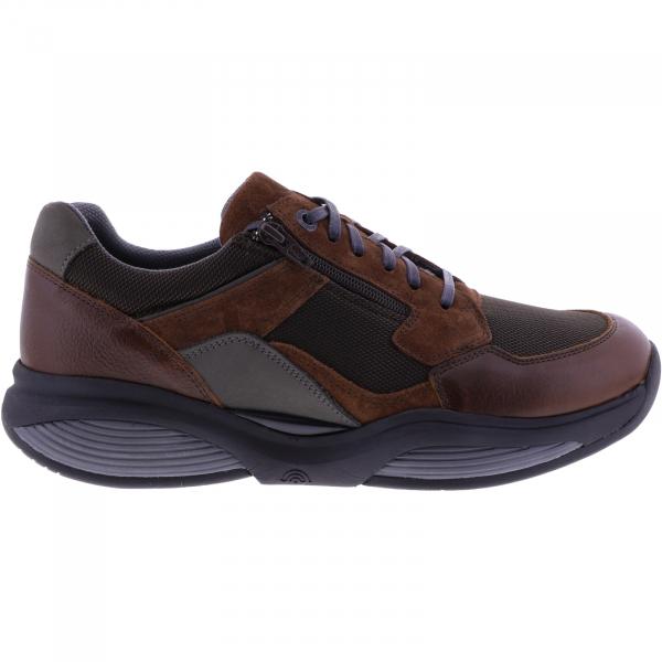 Xsensible Stretchwalker / Modell: SWX14 / Cognac / Leder-Textil / Art: 300881-330 / Herren Sneakers