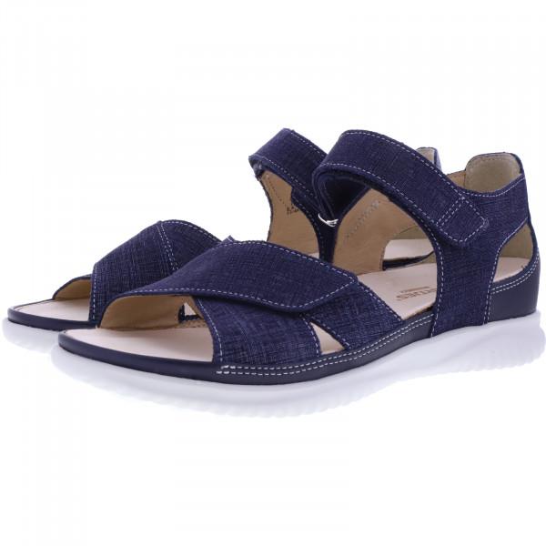 Hartjes / Modell: Breeze II / Jeans Blau Leder / Weite: G / 112232-4747 / Damen Sandaletten