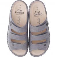 Finn Comfort / Menorca-Soft / Stone / Wechselfußbett / Art: 82564-477150 / Damen Pantolette