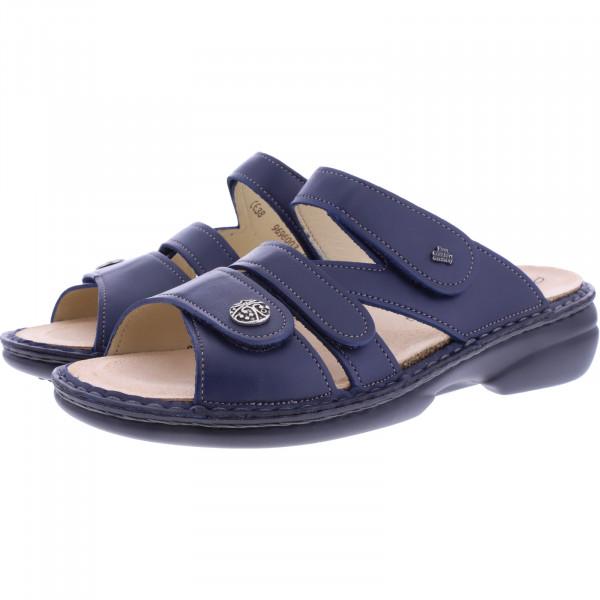 Finn Comfort / Ventura-Soft / Ozean Leder / Wechselfußbett / Art: 82568-272042 / Damen Pantoletten