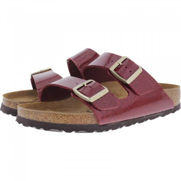 Birkenstock / Modell: Arizona / Magic Snake Bordeaux / Weite: Schmal / Art: 1013633