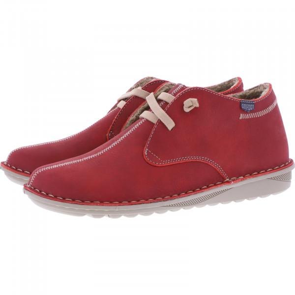 OnFoot / Modell: Ultra Flex / Farbe: Rojo Rot Leder / Art.: 20800 / Damen Schuhe