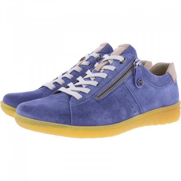 Hartjes / Modell: XS Casual / Aqua/Sahara Leder / Weite: G / 88162-4208 / Damen Sneakers