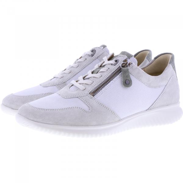 Hartjes / Modell: Breeze I / Aluminium/Khaki Leder / Weite: G / 112262-1970 / Damen Sneakers