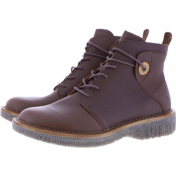 El Naturalista / Modell: N5575 Volcano / Farbe: Soft Grain Brown Leder / Damen Stiefelette