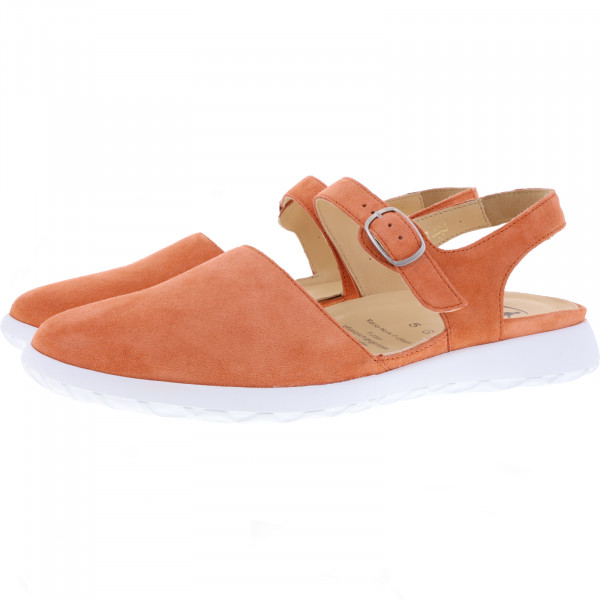 Ganter / Gabby / Papaya Rot Leder / Weite: G / Leder / Art: 9-203042-8600 / Damen