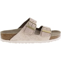 Birkenstock / Modell: Arizona / Washed Metallic Rose Gold Leder / Weite: Schmal / Art: 1008800