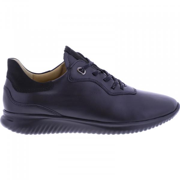 Hartjes / Modell: Breeze I / Schwarz Leder / Weite: G / 112962-0101 / Damen Sneakers