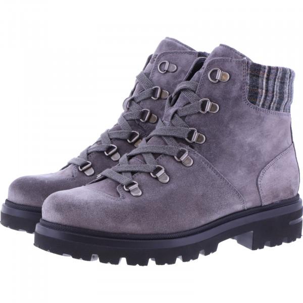 Hartjes / Modell: Hike Boot / Granit Veloursleder / Weite: H / 152172-4949 / Damen StiefelettenHartjes / Modell: Hike Boot / Granit Veloursleder / Weite: H / 152172-4949 / Damen Stiefeletten