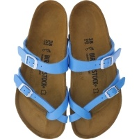 Birkenstock / Modell: Mayari / Graceful Ocean Blue / Weite: Normal / Art: 1008842