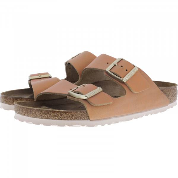 Birkenstock / Modell: Arizona / Washed Metallic Sea Copper / Weite: Schmal / Art: 1012902