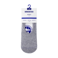 Birkenstock Herren Socken - Cotton Sole Invisible - Hellgrau