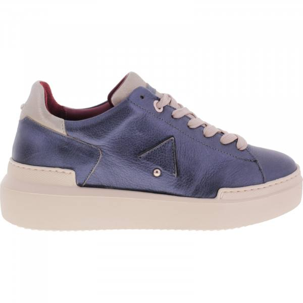 Ed Parrish Sneakers / Modell: Elisa / Blau-Champagner / Wechselfußbett / Damen Sneakers