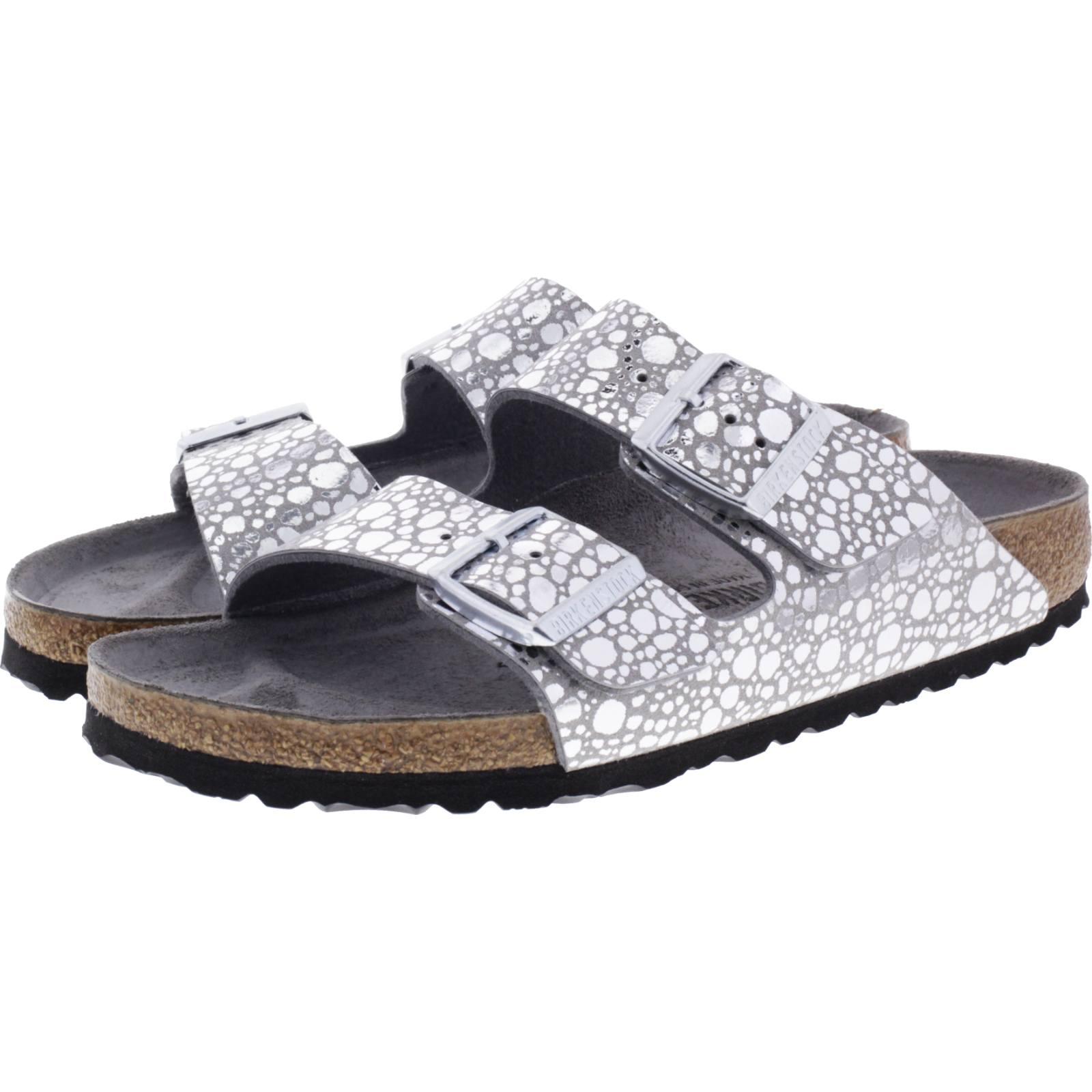 ed1a3b4eec1 ... Vorschau  Birkenstock   Modell  Arizona   Metallic Stones Silver Gray    Weite  Schmal ...