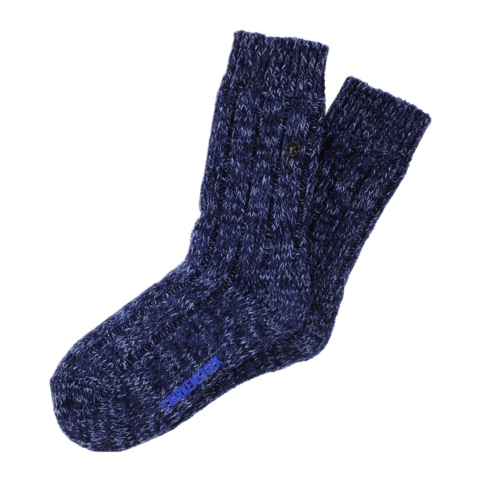 Birkenstock Damen Socken Cotton Bling Glitzer Socken Hellgrau Meliert