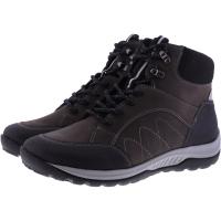 Hartjes / Modell: Walker Boot / Schwarz-Smoke  Leder / Weite: H / 1721202-0114 / Damen Stiefeletten