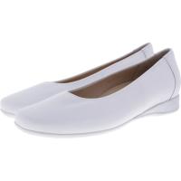 Hassia / Petra / Weiß-Sky Leder / Wechselfußbett / Art: 7-301700-0238 / Damen Ballerinas