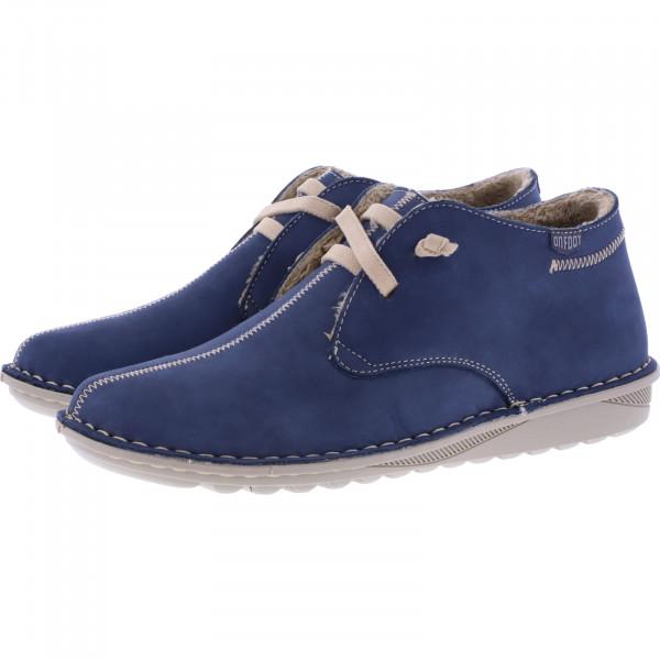 OnFoot / Modell: Ultra Flex / Farbe: Marino Blau Leder / Art.: 20800 / Damen Schuhe