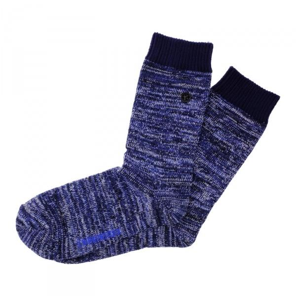 Birkenstock Damen Socken - Cotton Multi - Blau Meliert