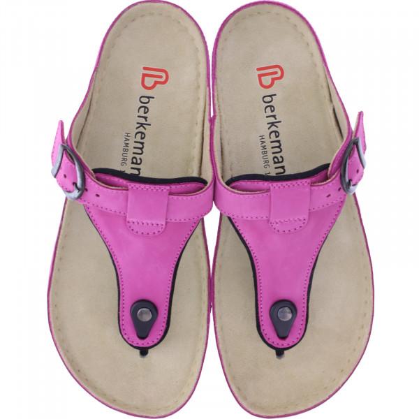 Berkemann / Modell: Mila / Pink Nubuk / Leisten: Caldera / Art: 01351-202 / Zehentrenner / Damen