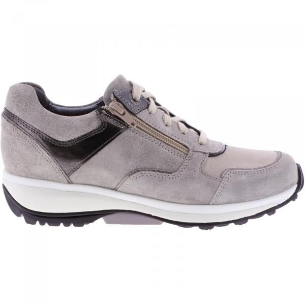 Xsensible Stretchwalker / Modell: Corby / Taupe Leder / Art: 301102-501 / Damen Sneakers
