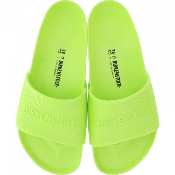 Birkenstock / Modell: Barbados EVA / Active Lime / Weite: Normal / Art: 1017053 / Damen Badeschuhe