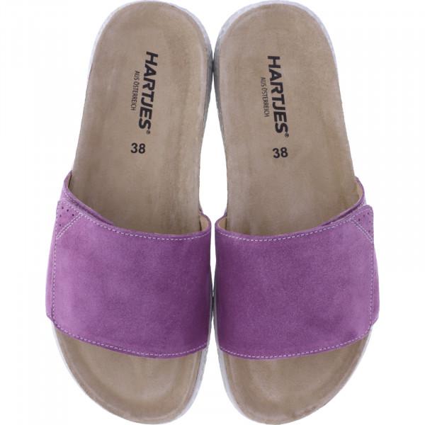 Hartjes / Modell: Move / Flieder Nubukleder / Weite: G / 120122-8500 / Damen Pantoletten