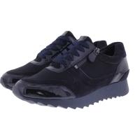 Hassia / Madrid / Ocean Lack  / Wechselfußbett / Weite: K / Art: 6-301824-3000 / Damen Sneakers