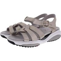 Xsensible Stretchwalker / Modell: Rhodos / Sand Metallic / Leder / Art: 300375-437 / Damen Sandalen