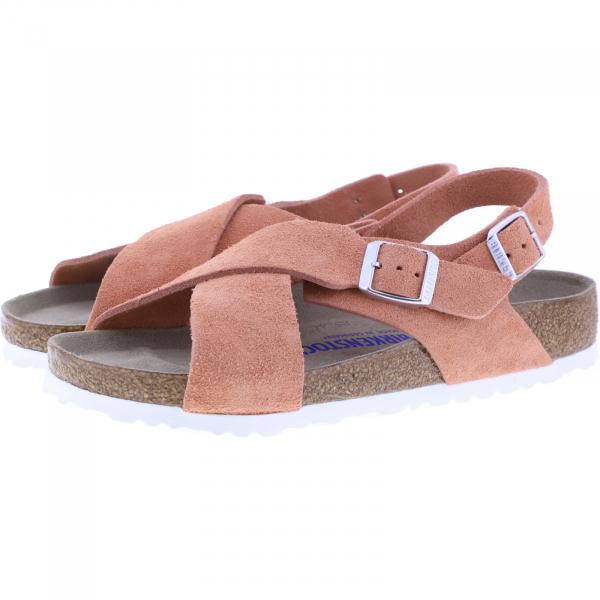 Birkenstock / Modell: Tulum SFB / Coral Peach Leder / Weite: Normal / Art: 1020539 / Damen Sandalen